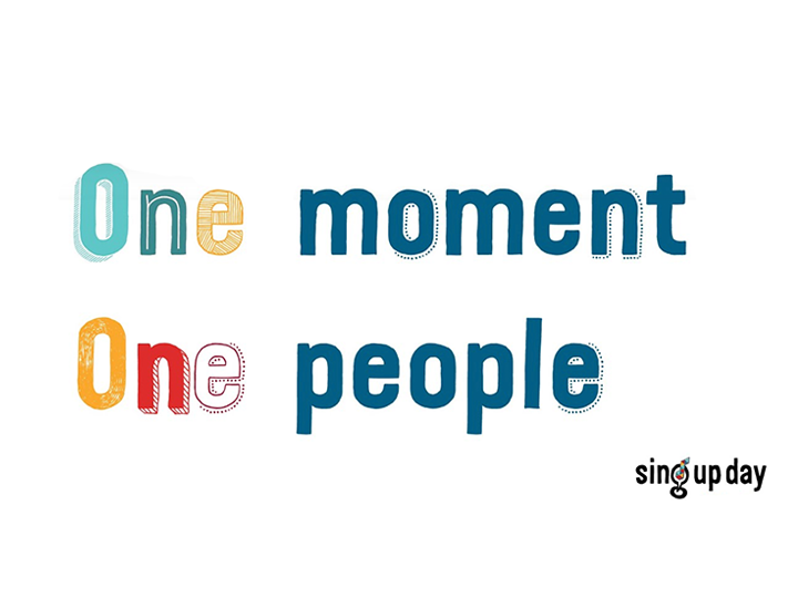 One moment, one people