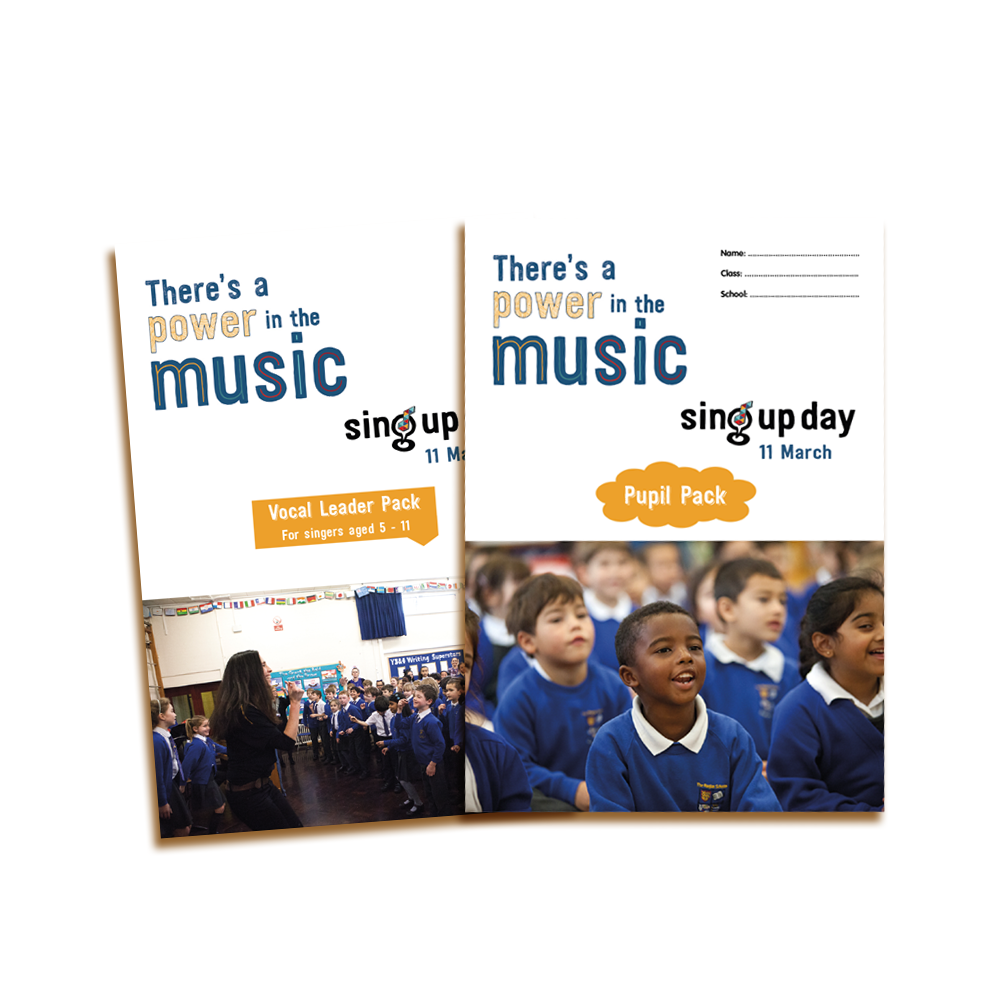 The Sing Up Day resources