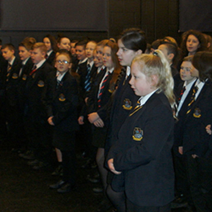 Sing Up Day at Ormiston Six Villages Academy