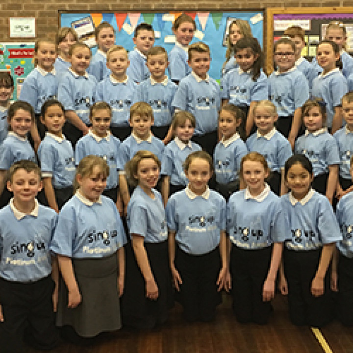 Sing Up Day at North Lakes School