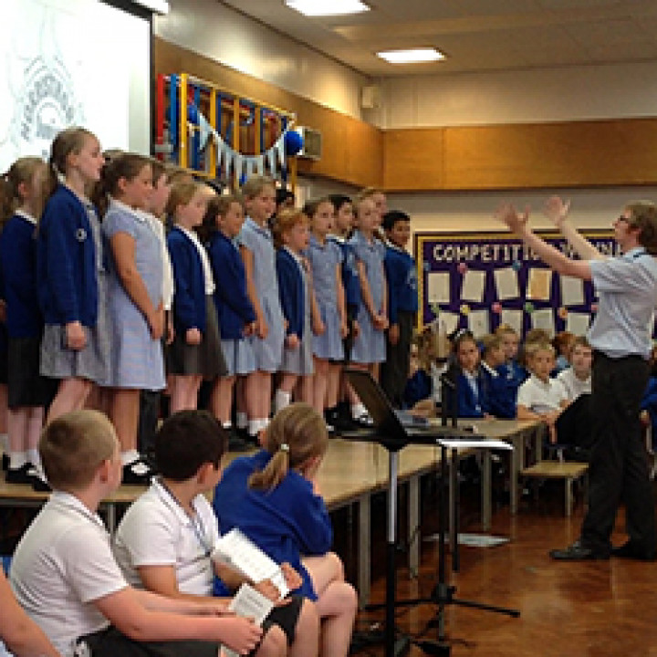 Sing Up Day at Norristhorpe Junior and Infant School