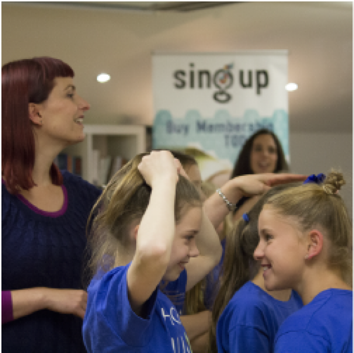 PRESS RELEASE: Sing Up celebrates its 10th Birthday with a party and plenty of singing