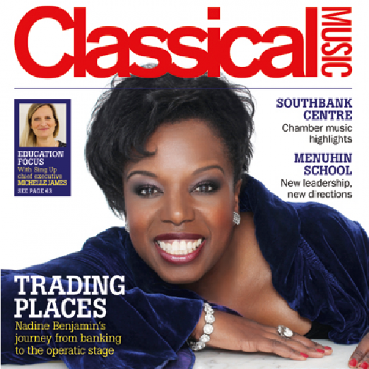PRESS RELEASE: Sing Up guest edit March's education edition of Classical Music Magazine