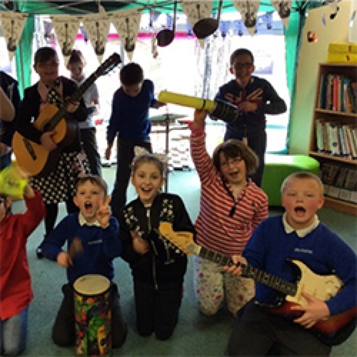 Sing Up Day at Fosse Way School