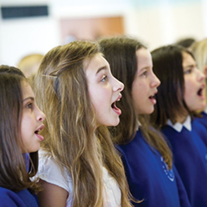 Boost your choir and return to school with a song